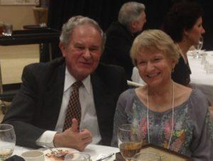 Marvin Blickenstaff, clinician, and Donna Sanders, SCMTA Teacher of the Year